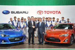 Toyota 86 и Subaru BRZ