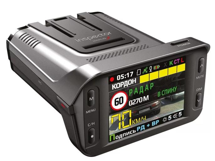 Видеорегистратор с радар-детектором