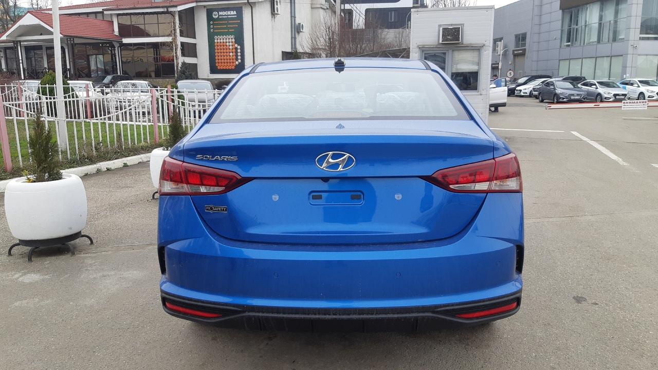 Фото Hyundai Solaris 2020