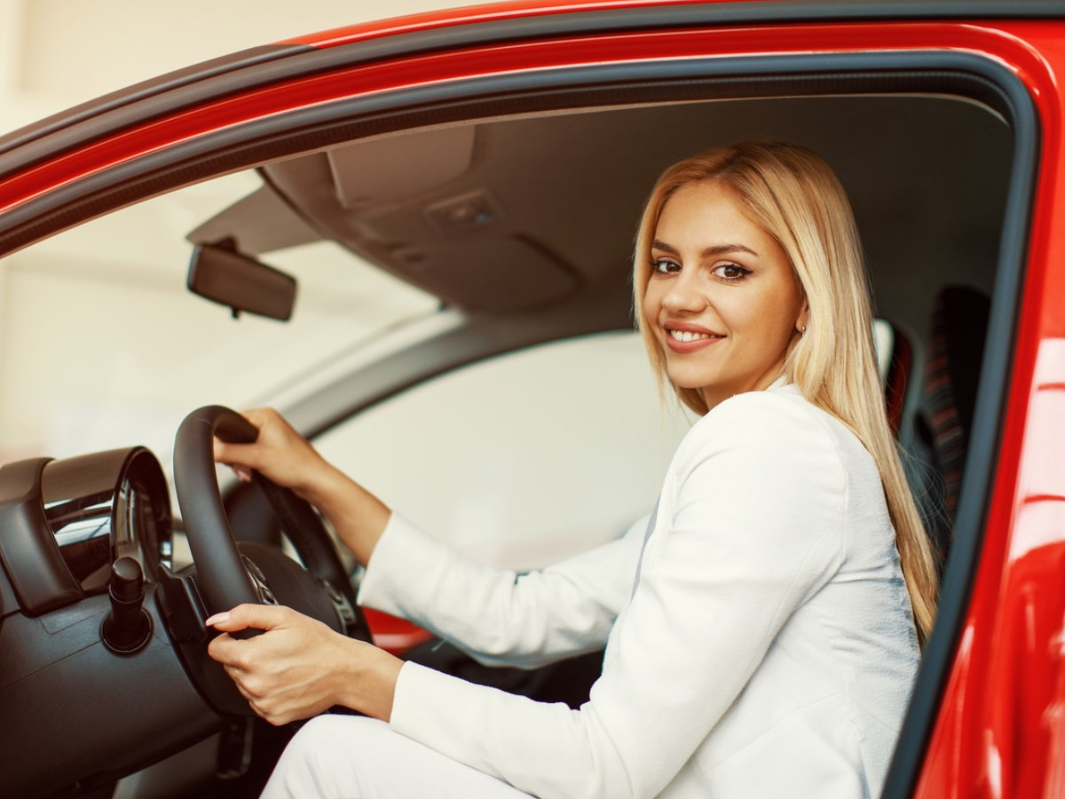 На каких автомобилях ездят женщины