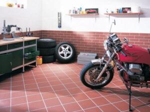 Керамическая плитка для пола в гараже